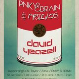 Pnky&Brain + Friends Podcast for November with Special Guest David Yeazell