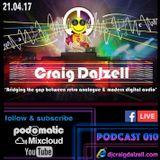 Craig Dalzell Facebook Live Podcast 010 (3 Deck N.I Old Skool Vinyl Mix)