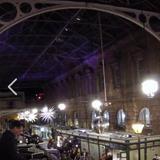 Muscat DJ Reggae set. St Nicks Night Market. The Glass Arcade. The Old City. Bristol. December 2018.
