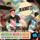 DeadBeets Radio 011 - 21/06/13 - Special guests Arkaik, Shiver & MCXL