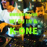 Bwenno Live w/ DJ IN & K-One