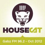 Deep House Cat - Gabz FM 96.2 Botswana - 96 Minute Mix - October '12