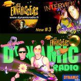 Les Envahisseurs New #3   INTERVIEW on Dynamic Radio