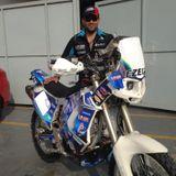 Sergio Petrone Piloto del Dakar en Marcas con Carlos Rodriguez
