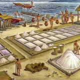 La sal en la época prehispánica