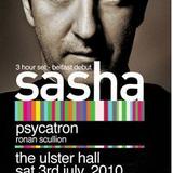 Psycatron Live @ Ulster Hall, supporting Sasha