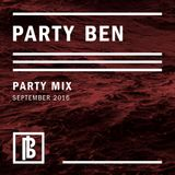 Party Ben Party Mix September 2016