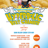 Unpronounceable Mix for Unspeakable Deviance Presents Hyperbolic Beat Chamber 29May Sunflower Lounge
