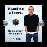 Dj Massimo Alberti - 70s-80s vol. 100