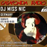 """DJ Miss Nic presents """"Hamburg Floorward"""" 036 for Casafonda Radio"""