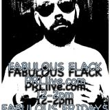 Fabulous Flack - 12th May 2017 PRLlive.com Fabulous Fridays 12 Till 2pm