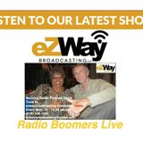 Radio Boomers Live 10-15-2018 Guest  James A. Omps and Shevyn Roberts