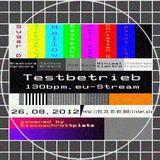 26.08.2012 Sugar D. @ Testbetrieb on 130BPM-Stream