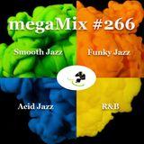 megaMix #266  Smooth Jazz, Funky Jazz, Acid Jazz + R&B