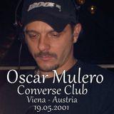 Oscar Mulero - Live @ Converse Club, Viena - Austria (19.05.2001)