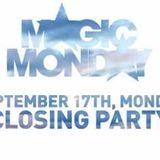 Magic Monday Closing Party 17.09.2018