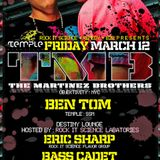 The Martinez Brothers Live @ Temple - 12-03-2010