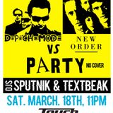 TEXTBEAK - DJ SET DEPECHE MODE VS NEW ORDER PARTY TOUCH CLEVELAND OH MARCH 18 2017