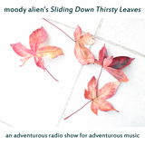 sliding  down thirsty leaves with Moody Alien 14-02-2017