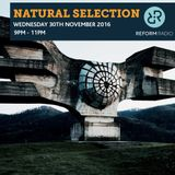 Natural Selection 30th November 2016