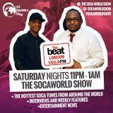 #SocaWorldShow with @DjBostman & DJ Trini Topshotta 23.07.2016 11pm-1am