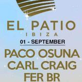 Paco Osuna - Live @ Music On Day Show (El Patio Playa D En Bossa, Ibiza) - 01-SEP-2018