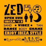 OPEN SUN IBIZA 2013 - ZED