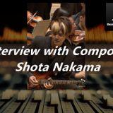 Designing Music NOW Podcast - Episode 7 - Producer, Composer, Guitarist Shota Nakama