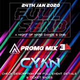VINYL MIX - FULL SEND - A NIGHT OF HARD DANCE & DRUM'N'BASS - 24TH JAN 2020