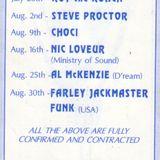 Stuart Dee @ Tall Trees - Summer 1992 - Part 2