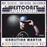 Christian Martin - Live at West Coast Weekender May 13, 2016
