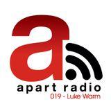Apart Radio 019 - Luke Warm LIVE @ SoulDive