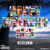DJ JOEL FELIX - HAPPY WEEKEND MIX (07.22.2016)