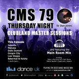 CMS79t - Clubland Master Sessions (Thur) - DJ Dan Jones - Dance Radio UK (01 JUN 2017)