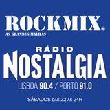 ROCKMIX  5  Nostalgia emissao 1º hora 25-6-2016
