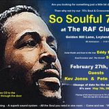 A Taste Of Soul with Steve Plumb (SOLAR RADIO 07/02/2106 8pm-10pm) - HOUR 1