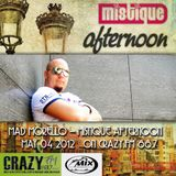 Mad Morello – Mistique Afternoon [May 04 2012] on Crazy.Fm 88,7