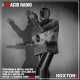 I Love Acid Radio, June 2017 with Neville Watson & Posthuman