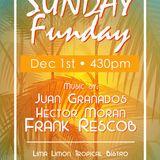 Frank Rescob @ SUNDAY FUNDAY 01/12/13