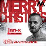 JAN-X @ Kings&Queens - N.A Xmas Party 2016 w/ Technasia