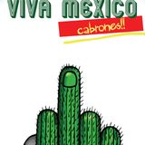 Guacamayo Tropical Viva Mexico Cabrones 111!!!!
