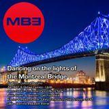 DJ MB3 Dancing on the lights of the Montreal Bridge