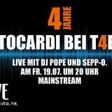 4 Jahre TOCARDI mit DJ Pope & Sepp-O | 19.07.2013