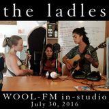 The Ladles in-studio: WOOL-FM July 30, 2016
