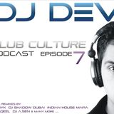 Club Culture Podcast - Episode 7