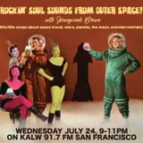 Outer Space Oldies Radio Show with Honeycomb Brown