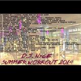 D.J. NYCE SUMMER WORKOUT 2014
