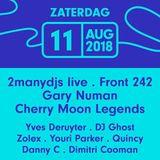 Cherry Moon Legends DJ Team at Lokerse Feesten (Lokeren - Belgium) - 11 August 2018