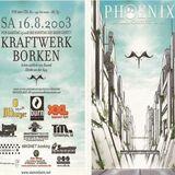 Alter Ego (Live PA) @ Stammheim Phoenix Festival - Kraftwerk Borken - 16.08.2003