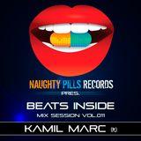Kamil Marc - BEATS INSIDE Mix Session vol.011 [Naughty Pills Records]